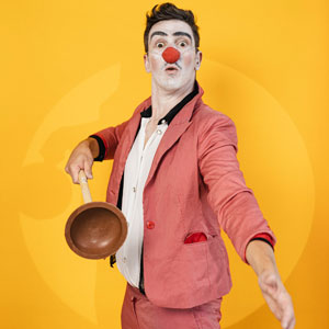 portrait studio grenoble clown